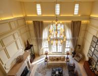 览海国际高端别墅样板房摄影