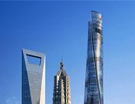 上海中心大厦建筑工程摄影