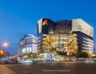 大悦城商场建筑空间摄影