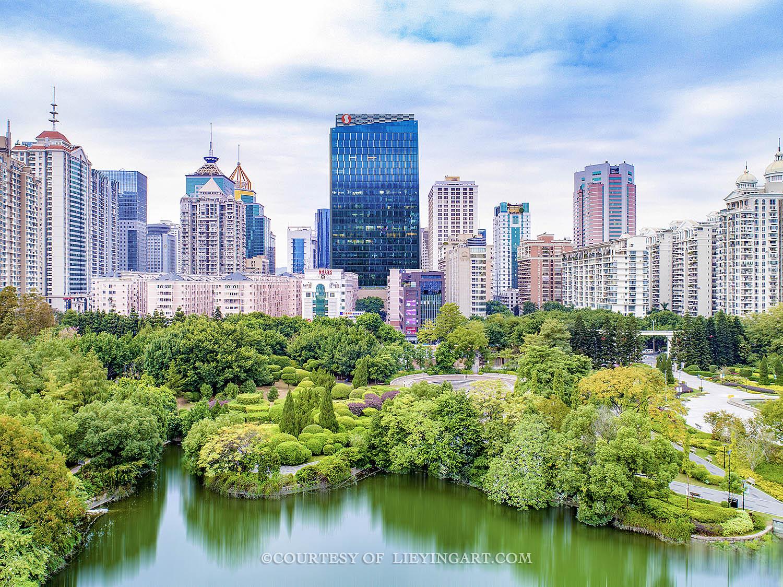 福州信和广场建筑外观