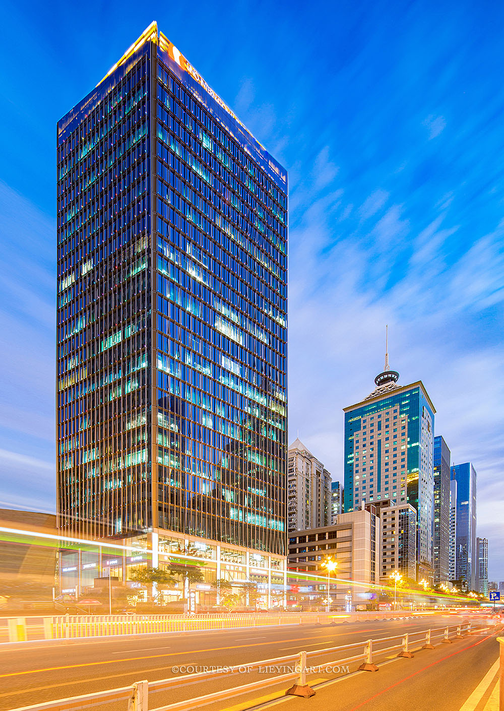 建筑夜景拍摄