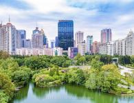 福州信和广场建筑空间摄影