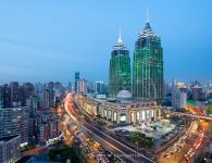 上海环球港建筑摄影作品